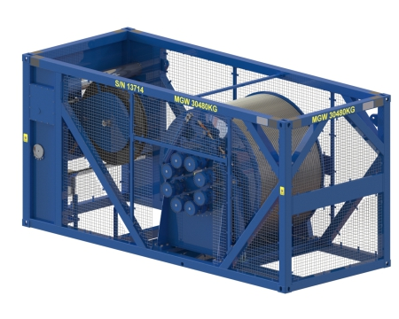 Offshore winches