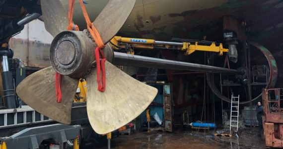 Renovation of propellers